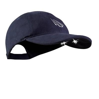 POWERCAP Adult 4 LED Unstructured Cotton Hat - Navy