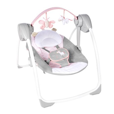Ingenuity Comfort 2 Go Portable Swing - Flora