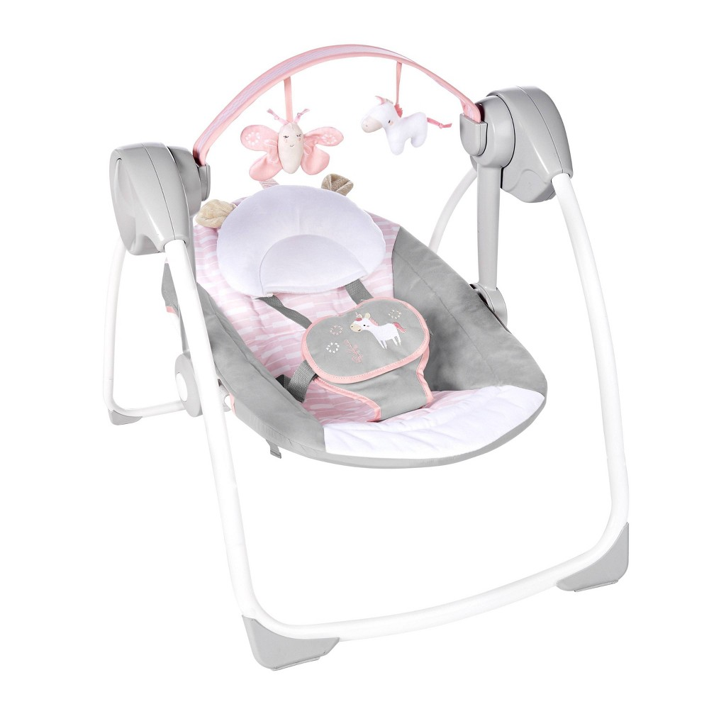 Image of Ingenuity Comfort 2 Go Portable Swing - Flora