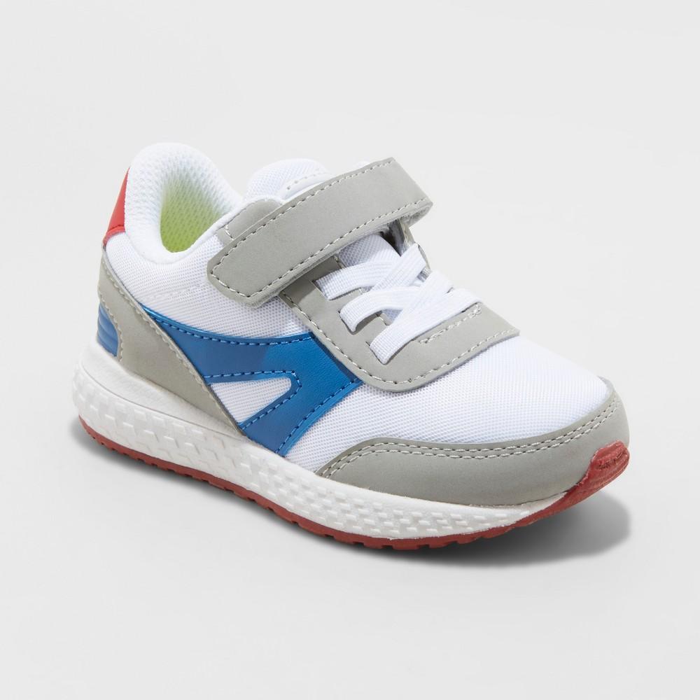 Toddler Boys' Camden Sneakers - Cat & Jack White 11