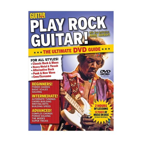 Alfred Guitar World Play Rock Guitar DVD - image 1 of 1