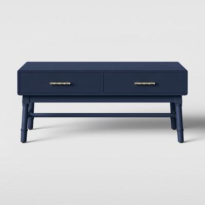Oslari Painted Coffee Table Blue - Opalhouse™