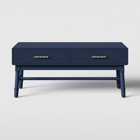 Oslari Painted Coffee Table Blue - Opalhouse™ - image 1 of 5