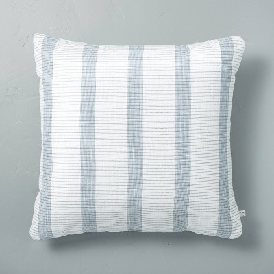 Bold Textured Stripe Throw Pillow - Hearth & Hand™ with Magnolia