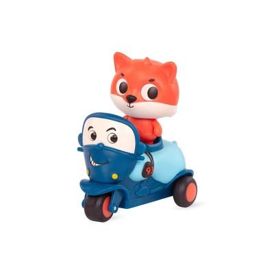 Land of B. Light-Up Toy Fox & Motorcycle Dash & Motor Mike
