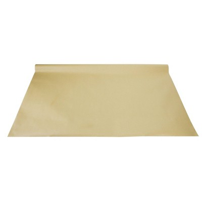 "35""x72"" Kraft Table Runner Recyclable Tableware Accessory Brown - Spritz™"