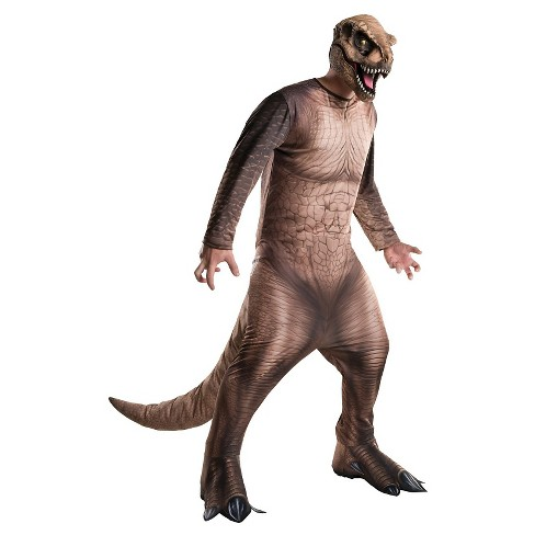 Men's Jurassic World T Rex Costume - image 1 of 1