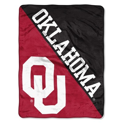NCAA Oklahoma Sooners Micro Fleece Throw Blanket
