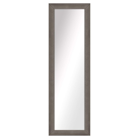 Floor Mirror PTM Images Pewter - image 1 of 1