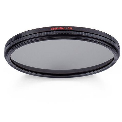 Manfrotto 52mm Essential Circular Polarizing Filter - image 1 of 4