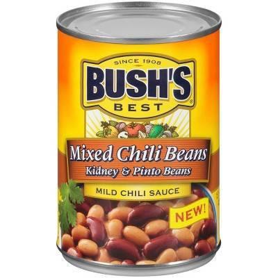 Bush's® Mild Chili Sauce Mixed Kidney & Pinto Beans