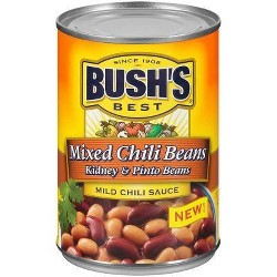 Bush's Mixed Chili Beans Pinto & Kidney Beans - 15.5oz