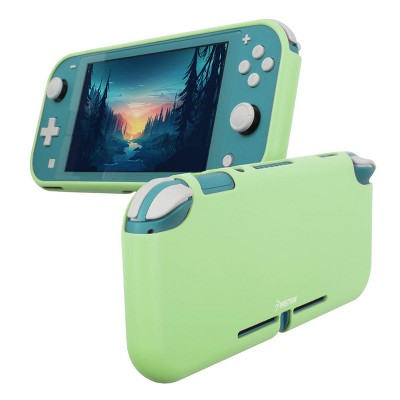 Insten Silicone Case for Nintendo Switch Lite - Shockproof Protective Cover Accessories with Smooth Grip, Green