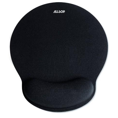 Allsop Mouse Pad With Wrist Rest Black 30203 Target