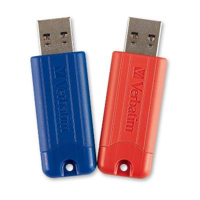 Verbatim PinStripe 32GB USB 3.0 Flash Drive 70056