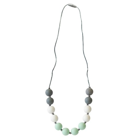 Itzy Ritzy Teething Happens™ Round Bead Petite Necklace - Mint - image 1 of 1
