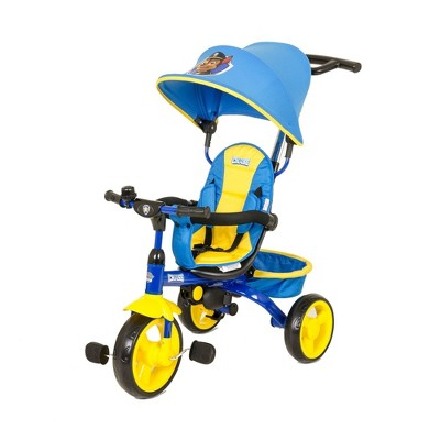 KidsEmbrace Nickelodeon Paw Patrol Chase 4 in 1 Push and Ride Stroller Tricycle
