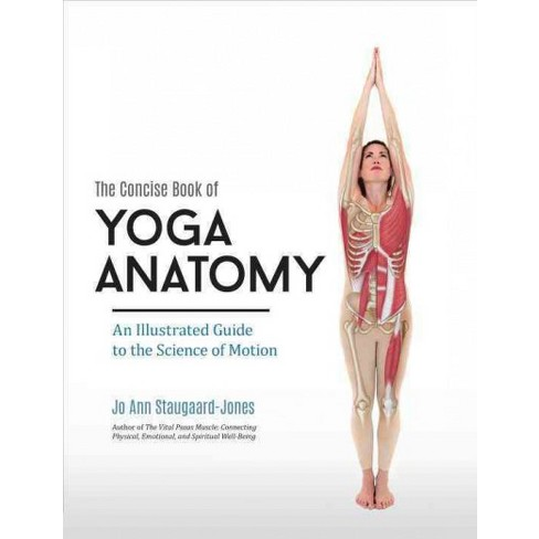 Concise Book Of Yoga Anatomy An Illustrated Guide To The Science