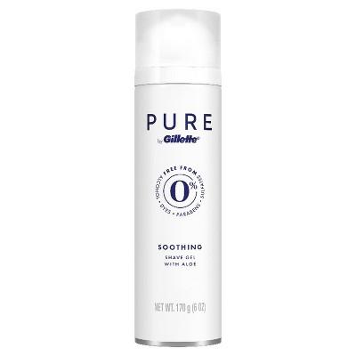 Shaving Creams & Gels: Pure Gillette