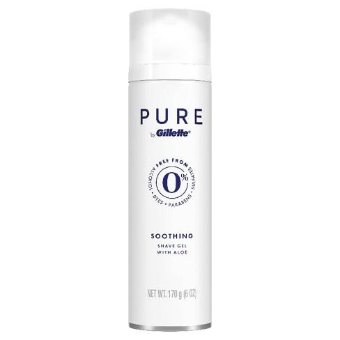 Gillette Pure Men's Soothing Shave Gel - 6oz - image 1 of 4