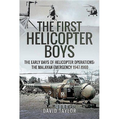 The First Helicopter Boys - by  David Taylor (Hardcover) - image 1 of 1