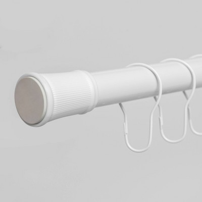 Shower Rod and Ring Bundle White - Room Essentials™