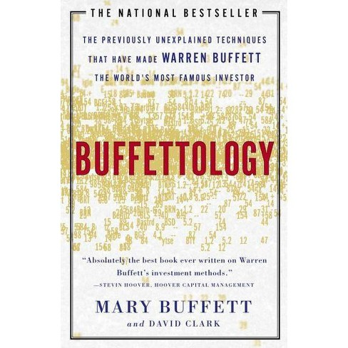Buffettology - by  Mary Buffett & David Clark (Paperback) - image 1 of 1