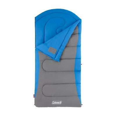 Coleman Cont Dexter 30 Degree Big and Tall Sleeping Bag - Blue