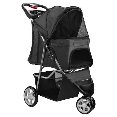 Oxgord Paws & Pals 3-Wheel Jogger Pet Stroller