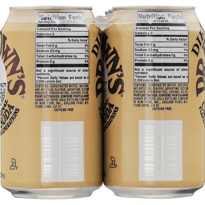Dr. Browns Diet Cream Soda 6 pk