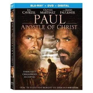 Paul, Apostle Of Christ (Blu-ray + DVD + Digital Combo Pack)