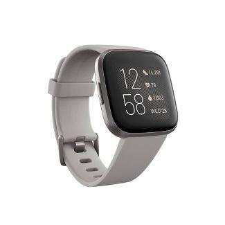 Fitbit Versa 2 Smartwatch - Stone/Mist Gray