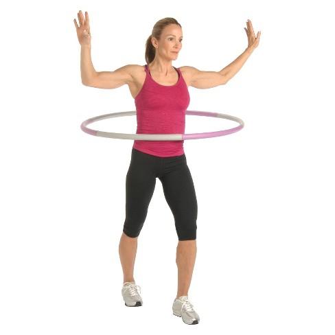 2 5lb fitness hoop target