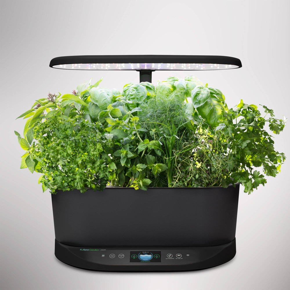 Image of Bounty Planter Set Black - Aerogarden