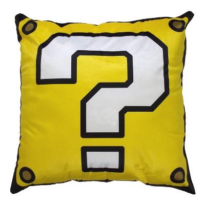 Super Mario Coin Bank XL Pillow