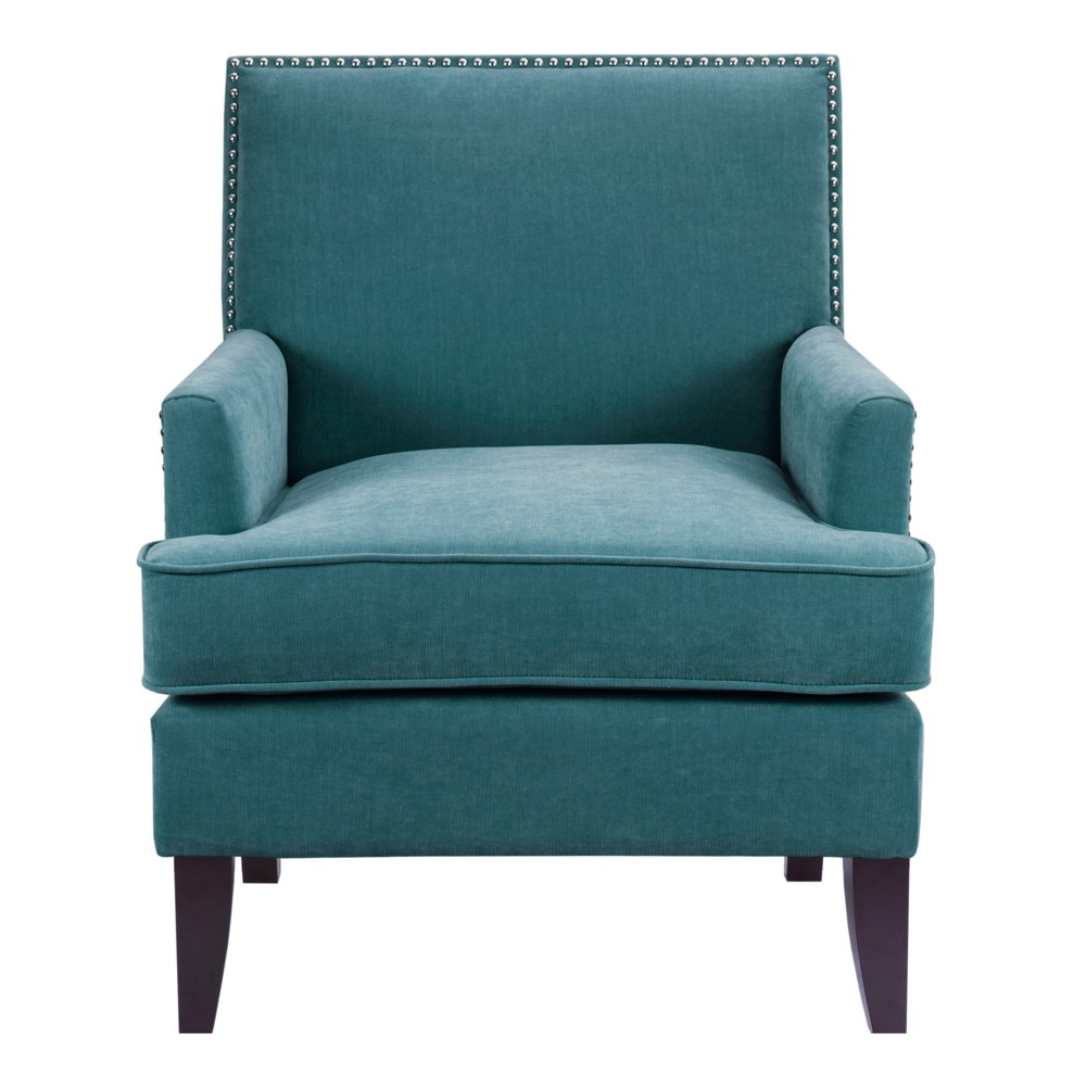 Robin Track Arm Club Chair - Blue