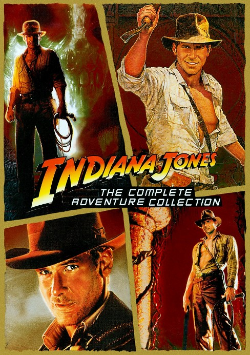 Indiana Jones: The Complete Adventures Collection [WS] [5 Discs] - image 1 of 1