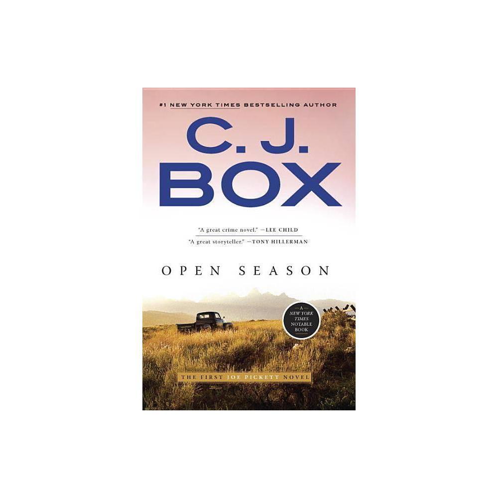 Open Season Joe Pickett Novel By C J Box Paperback