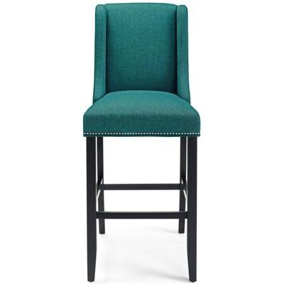 Baron Upholstered Fabric Barstool - Modway
