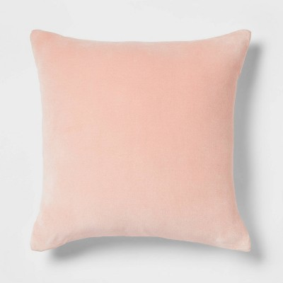 Cotton Velvet Square Throw Pillow - Threshold™
