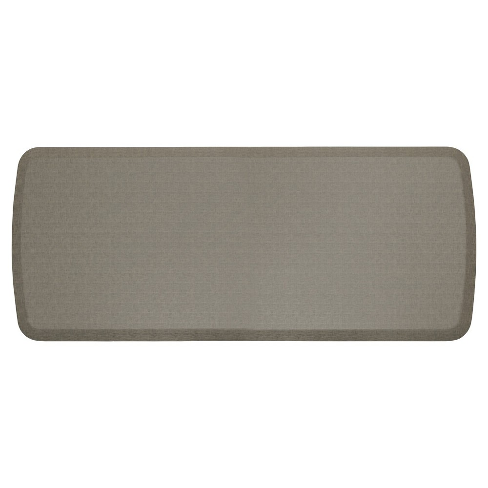 "Image of ""Gelpro Elite Linen Comfort Kitchen Mat - Granite Gray (20""""X48"""")"""