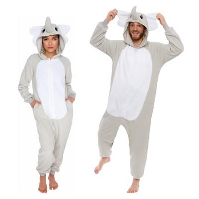 Funziez! Elephant Slim Fit Adult Unisex Novelty Union Suit