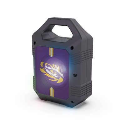 NCAA LSU Tigers Bluetooth Speaker with LED Lights