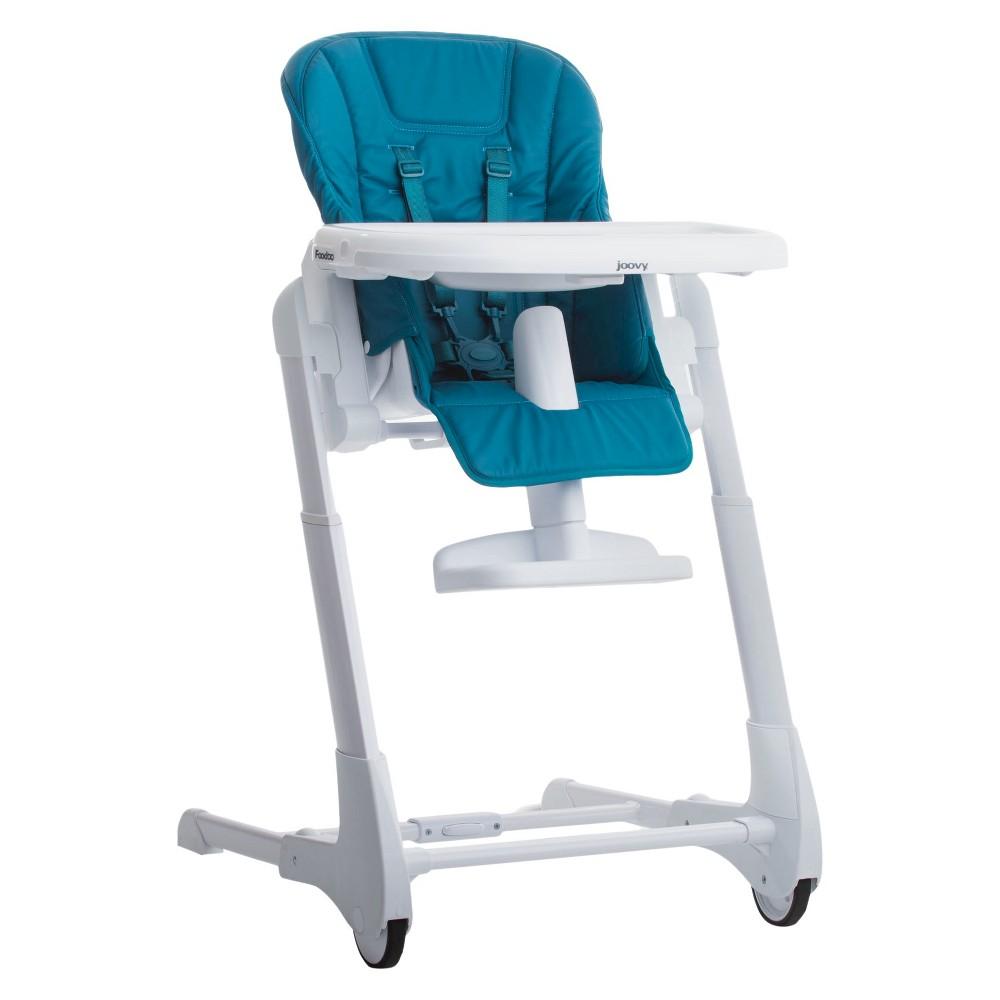 Image of Joovy Foodoo High Chair - Turq, Turquoise