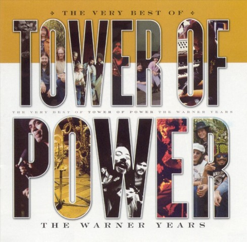 Tower Of Power - Very Best Of Tower Of Power (CD) - image 1 of 1
