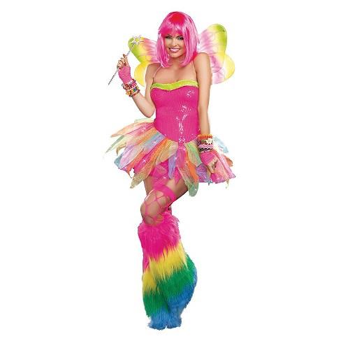 Women's Rainbow Fairy Costume - image 1 of 1