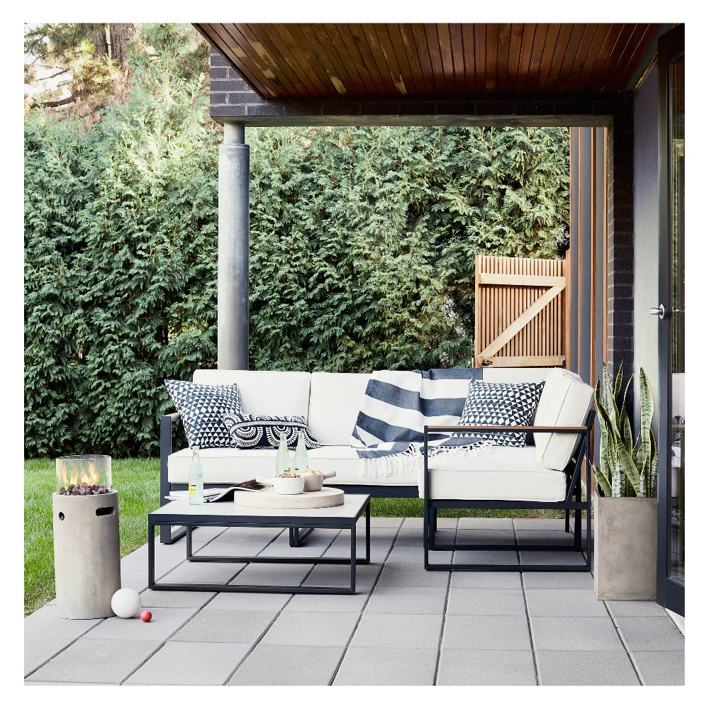 Henning Patio Sectional Conversation Set - Project 62