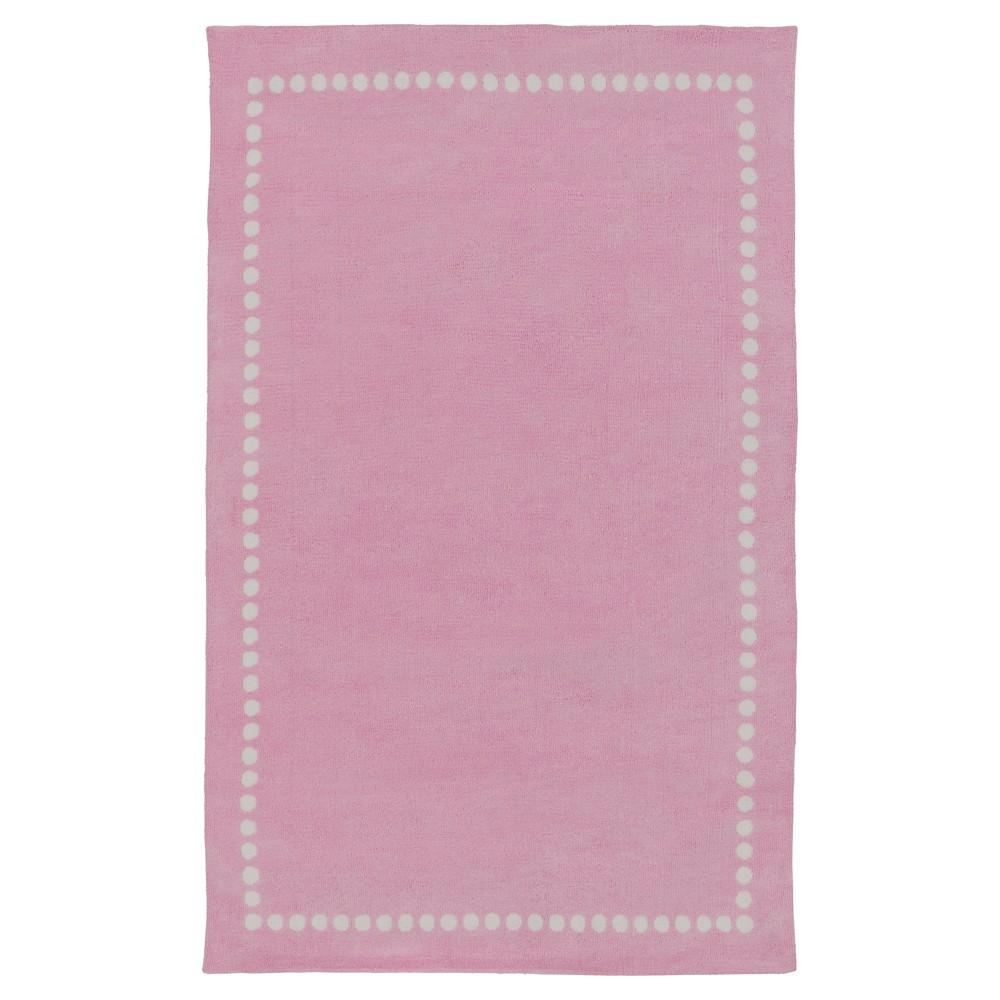 Lamoine Kid's Rug 8'x11' Bright Pink - Surya