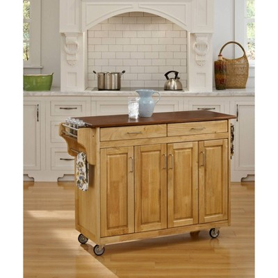 Kitchen Carts And Islands Natural Base - Home Styles