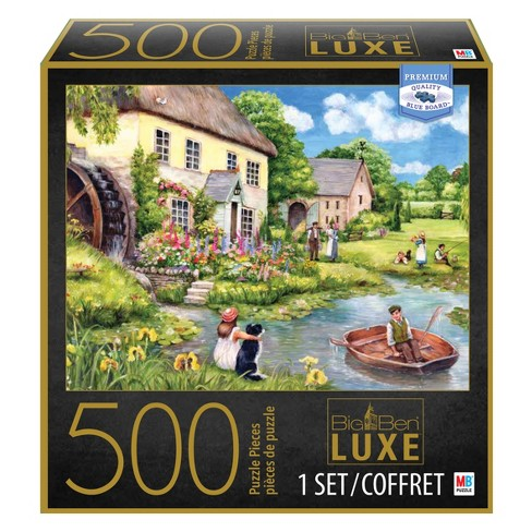 500pc Big Ben Luxe Puzzle - Mill Cottage - image 1 of 1